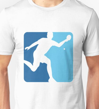 Blue Pong  Unisex T-Shirt