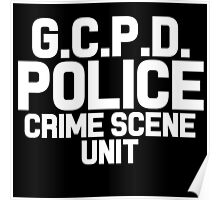 Gotham City Police Department - Batman Poster