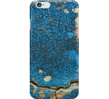 Red Moon Blue Night iPhone Case/Skin