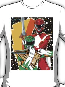 Red/Green Ranger  T-Shirt