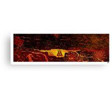 Superman Vs. San Andreas Canvas Print