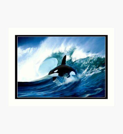 Killer Surf Art Print