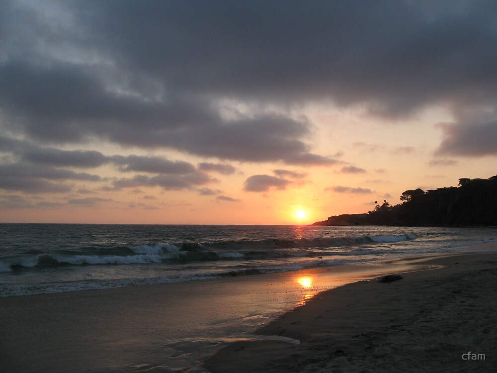 Beach Sunset by cfam