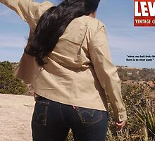 Navajo Ad of Levi Jeans (Fake Ad) by professork