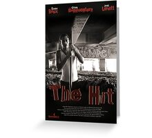 The Hit-Movie poster Greeting Card