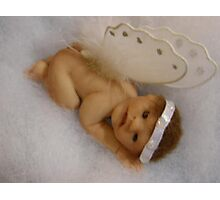 Serenity  Sculpted Baby Photographic Print