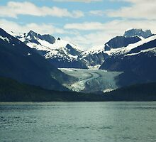Mountain in Alaska by Hali Madere