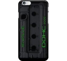 4g63 Valve Cover - Black and Green iPhone Case/Skin