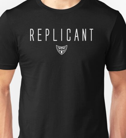 Blade Runner - Replicant - White Clean Unisex T-Shirt