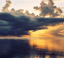 Stormy Sunset - Fiji by Lachlan Kent