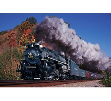 Nickel Plate Road #765 - New River Train Photographic Print