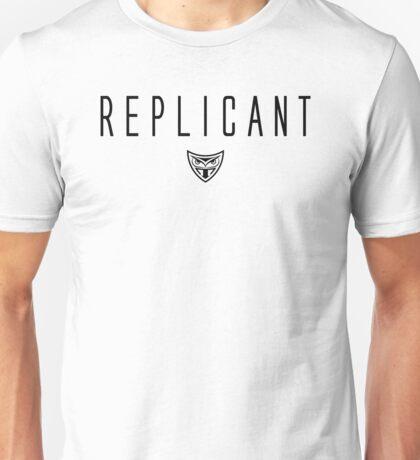 Blade Runner - Replicant - Black Clean Unisex T-Shirt