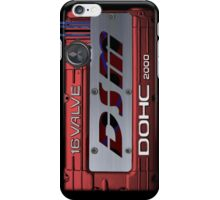 4g63 MITSUBISHI Valve Cover -IPHONE -Red/White - Steven iPhone Case/Skin