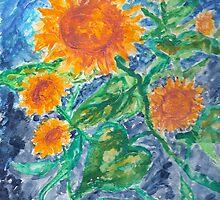 Sunflowers 2 by derekmccrea