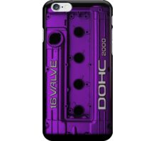 Mitsubishi Valve Cover 4G63 Purple (iPhone) iPhone Case/Skin