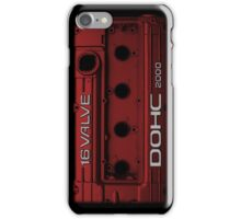 Mitsubishi Valve Cover 4G63 Red (iPhone) iPhone Case/Skin