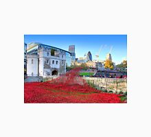 The Wave Tower of London Poppies Unisex T-Shirt