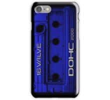 Mitsubishi Valve Cover 4G63 Blue (iPhone) iPhone Case/Skin