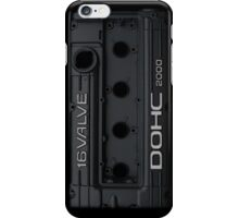 Mitsubishi Valve Cover 4G63 Black (iPhone) iPhone Case/Skin