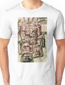 Saturday Morning Cartoons 2: TV Print Unisex T-Shirt