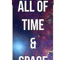 """Doctor Who TARDIS - """"All of time and space"""" by Warac"""