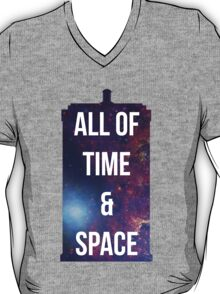 "Doctor Who TARDIS - ""All of time and space"" T-Shirt"