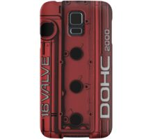 Mitsubishi Valve Cover 4G63 Red (Samsung Case) Samsung Galaxy Case/Skin