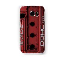 Mitsubishi Valve Cover 4G63 Red (Samsung Case) Samsung Galaxy Case/Skin