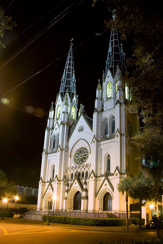 Cathedral of St. John the Baptist by David Thibodeaux