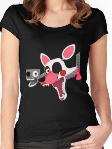 Mangle (Five Nights At Freddy's 2) Women's Fitted Scoop T-Shirt