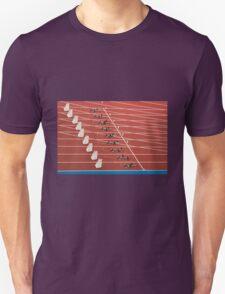 Starting Blocks Unisex T-Shirt