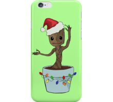I Only Want Groot For Christmas iPhone Case/Skin