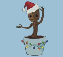 I Only Want Groot For Christmas Kids Clothes