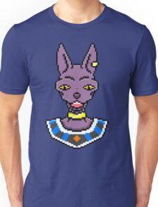 Beerus in Pixels Unisex T-Shirt