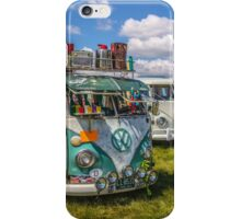 VW vintage buses.  iPhone Case/Skin