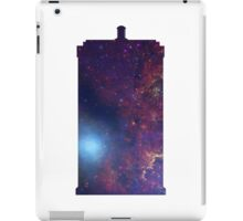 Doctor Who TARDIS - Galaxy Background iPad Case/Skin