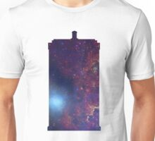 Doctor Who TARDIS - Galaxy Background Unisex T-Shirt