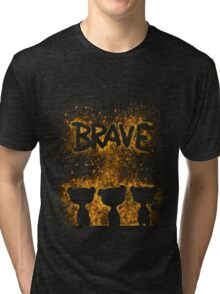 The Brave - Dark Bears 2 Tri-blend T-Shirt