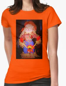 Scarecrow maiden Womens Fitted T-Shirt
