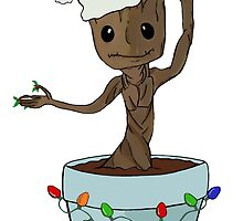 I Only Want Groot For Christmas by Jen  Talley