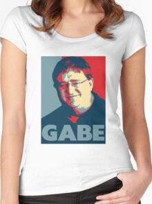 GABE Women's Fitted Scoop T-Shirt