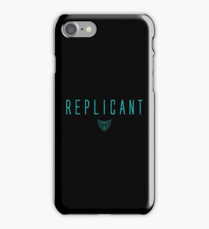 Blade Runner - Replicant - Teal Dirty iPhone Case/Skin