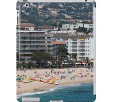 urban beach in summer iPad Case/Skin