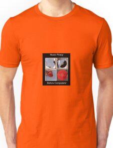 Joke Music Piracy  Unisex T-Shirt