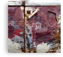 Glorious decay Canvas Print