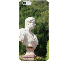 Caesar bust iPhone Case/Skin