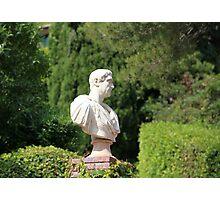 Caesar bust Photographic Print