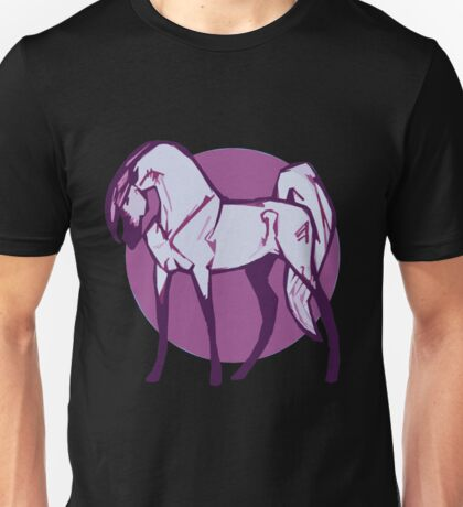 Purple Horse Unisex T-Shirt