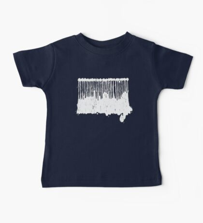 White Ink.  Baby Tee