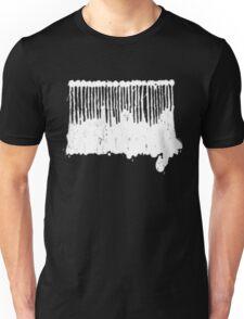 White Ink.  Unisex T-Shirt